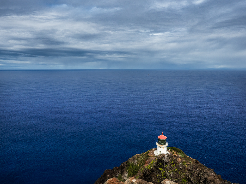 View from the top of the Makapu'u Lighthouse Trail