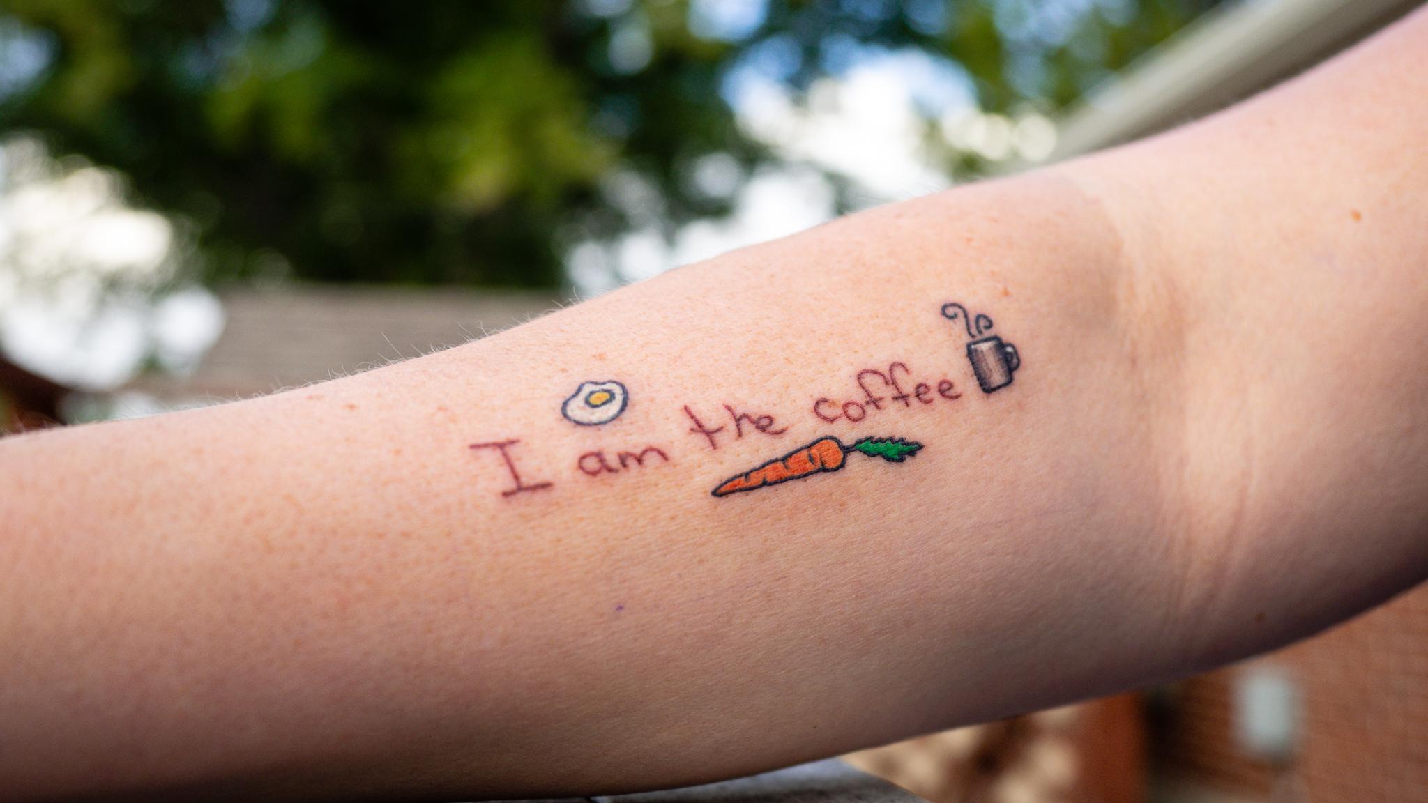 I am the coffee